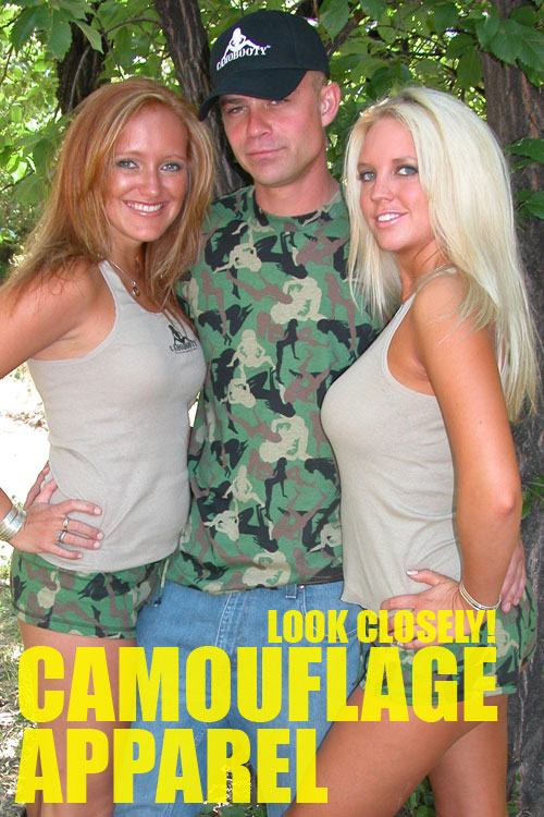 Camouflage Apparel - Look Closely